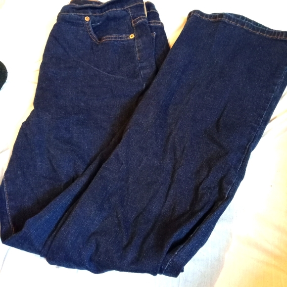 Levis 512 Perfectly Slimming Size 14  Leggings Str